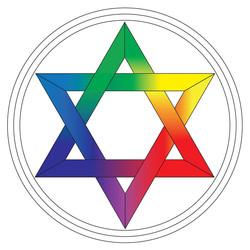 Le sceau de Salomon chromatique