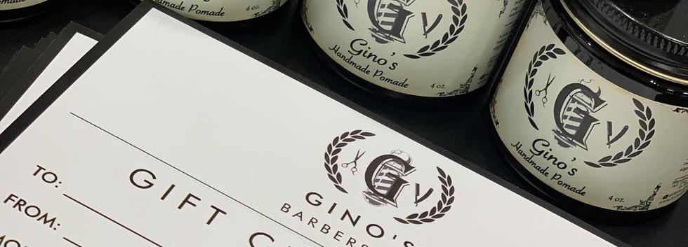 Gino's Pomade & Gift Card