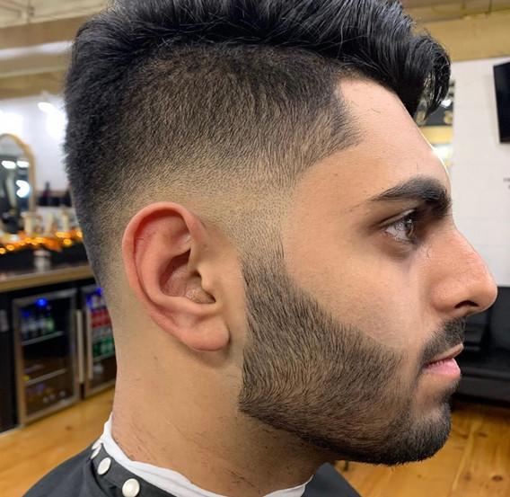 Bald Fade & Beard