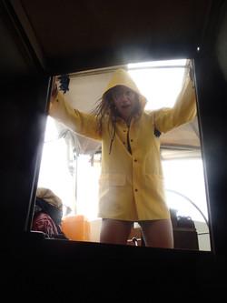 Rainy days on the boat