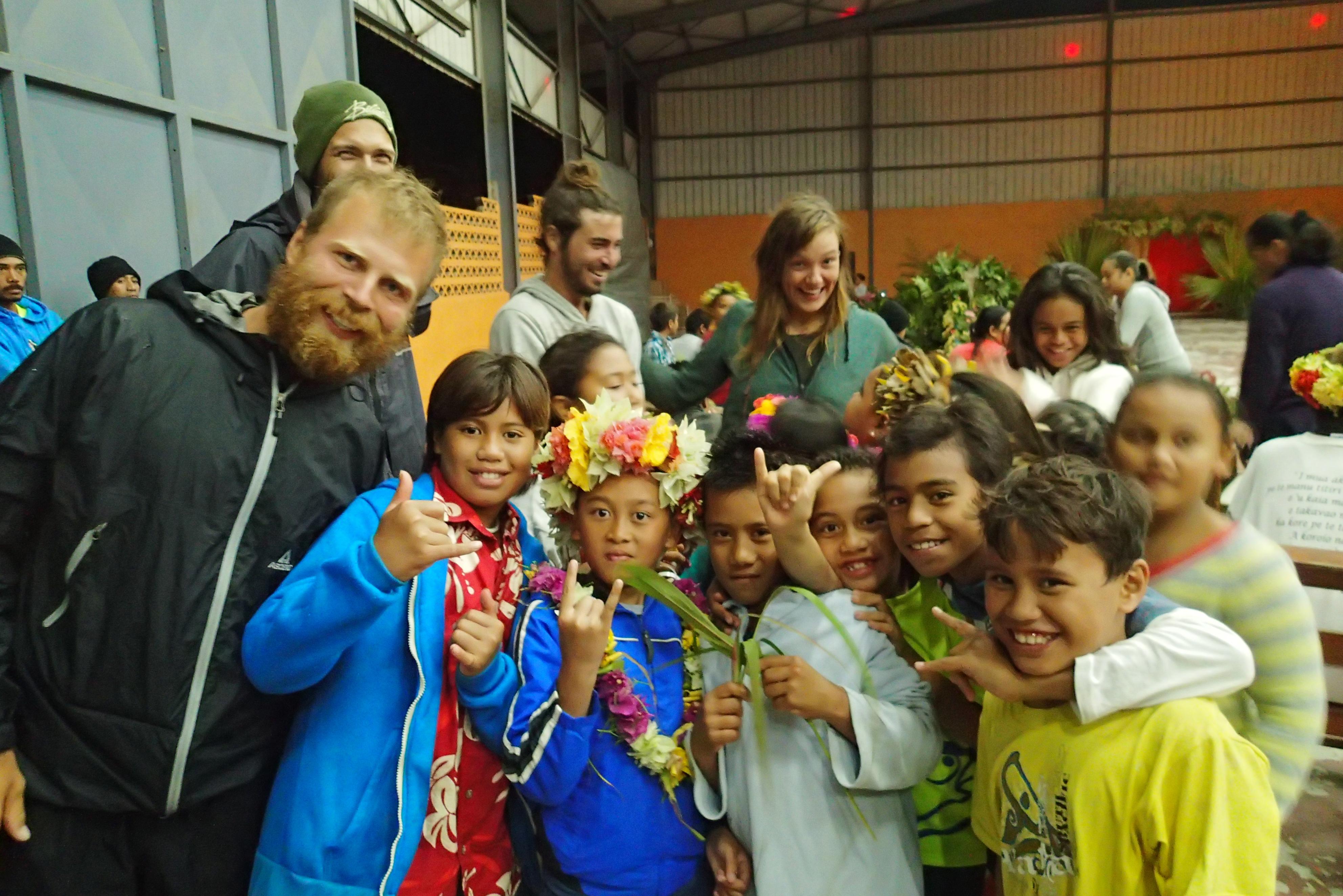 Kids of Mangareva
