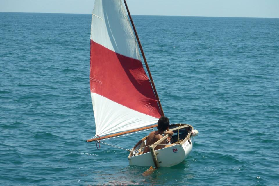 Saililng dinghy