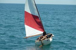 Saililng dinghy