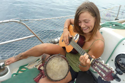Jammin on the boat