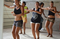 learning traditional dancing
