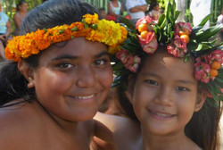 Polynesian girls