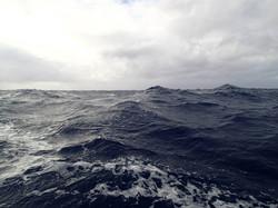 agitaded sea