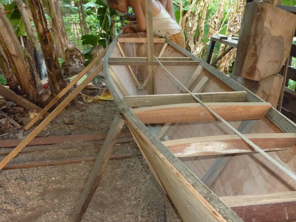 polynesian canoe structure