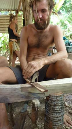 building polynesian canoe