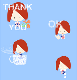 """Line Sticker  """"Hey Yoco"""""""