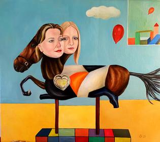 Three Headed Horse