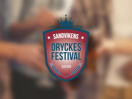 Sandvikens dryckesfestival 4-5 september 2020