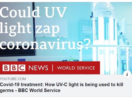THOR UVC i reportage på brittiska BBC