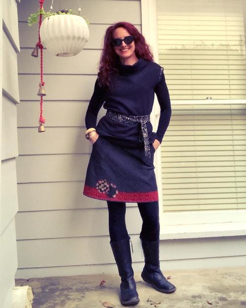 Red Tombo Skirt
