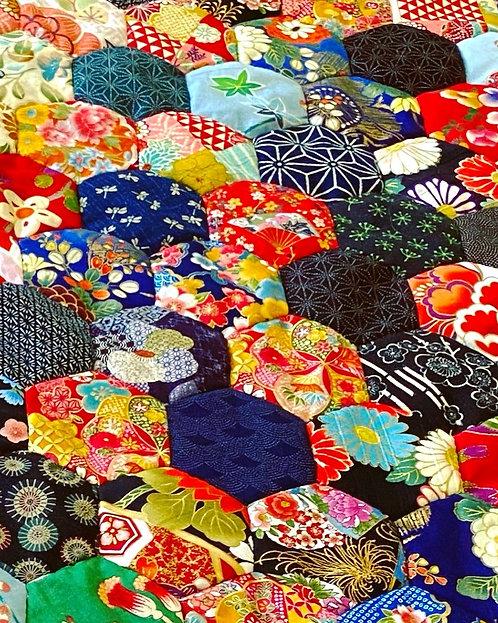 Japanese Fabric Scrap Bag