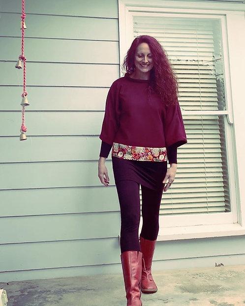 Persian Red Kimono Jumper