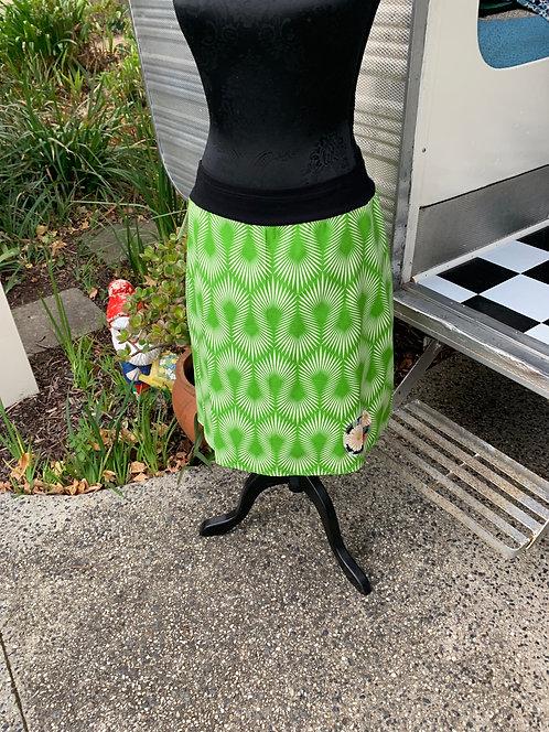 Green Spark Skirt