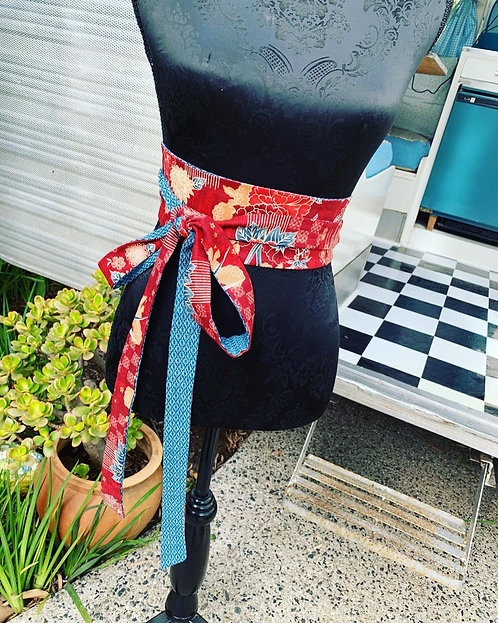 Japanese Obi Belt/Headwrap