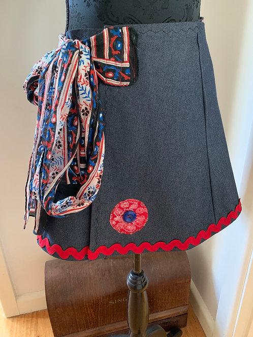 Girls Wrap Skirt
