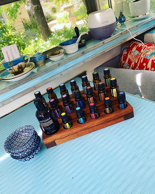 Timber Essential Oil Stand