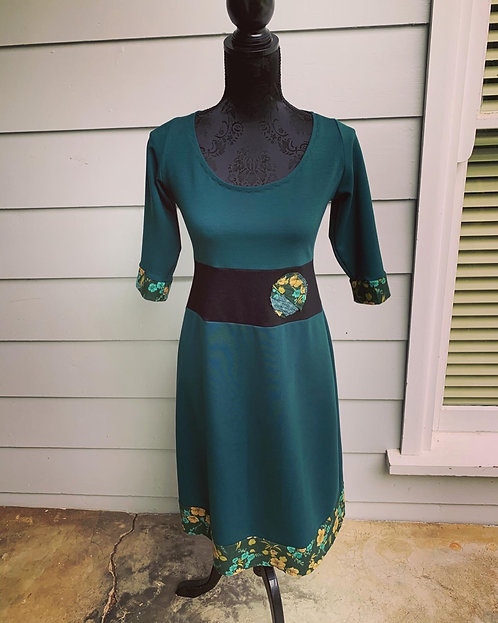 Vintage Green Miracle Dress