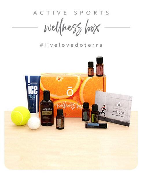 Active Sports Wellness Box Starter Kit