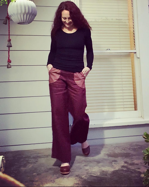 Linen Pocket Pants