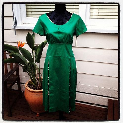 XXS Emerald Green 50's Dress