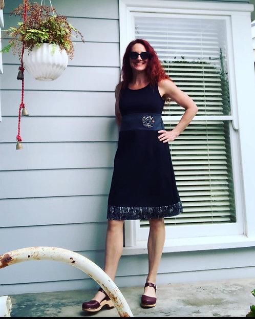 Black Blossom Miracle Dress