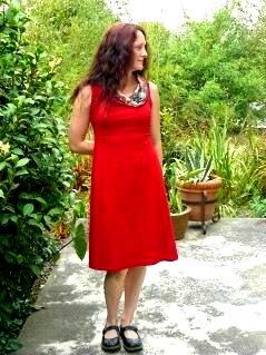 Ponti Cowl Dress