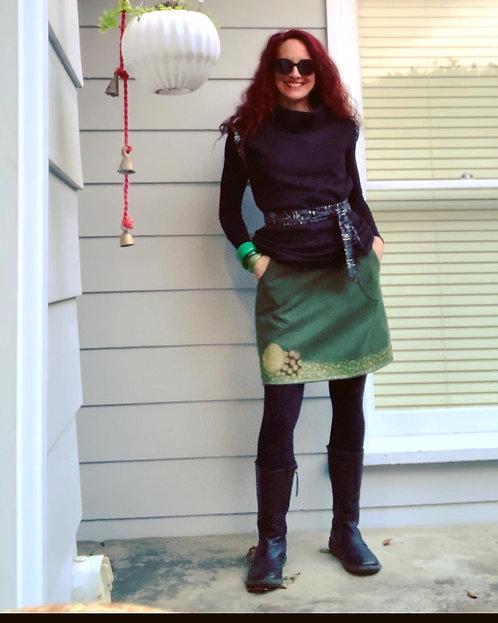 Japanese Olive Skirt