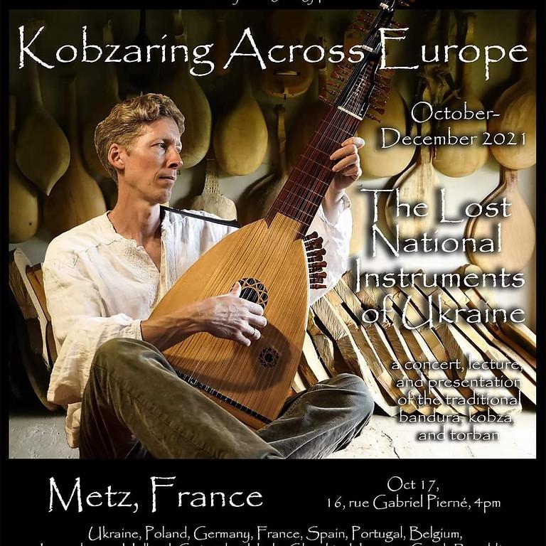 Kobzaring across Europe
