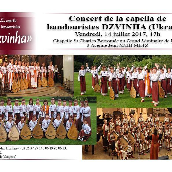 Dzvinha en concert gratuit à Metz