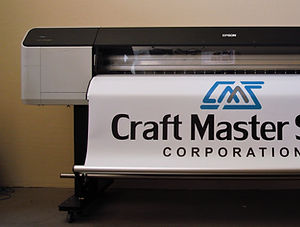 Printing banners and large graphics