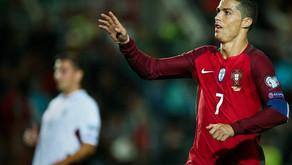 Portugal e Letônia se enfrentaram pelo grupo B das eliminatórias da Copa do Mundo