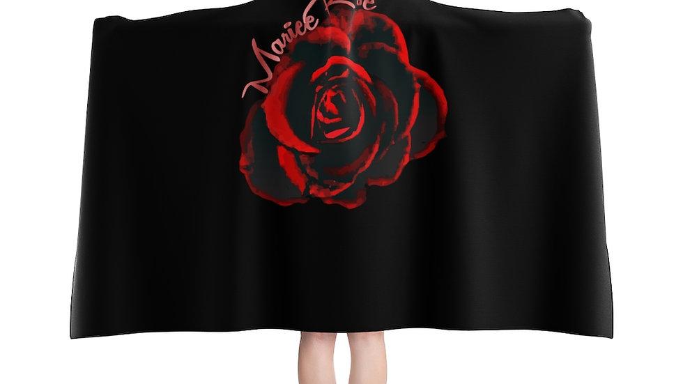 Marie Rose' Hooded Blanket