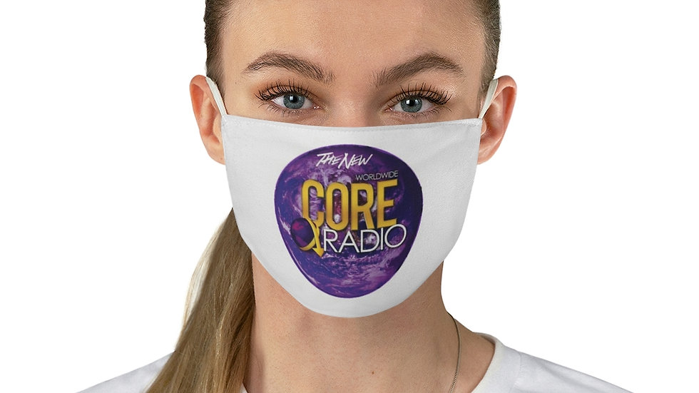 """""""CORE UP!"""" with our Fabric Face Mask"""