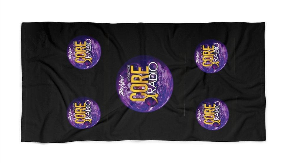 """Core Up"" Beach Towel 5 globes"