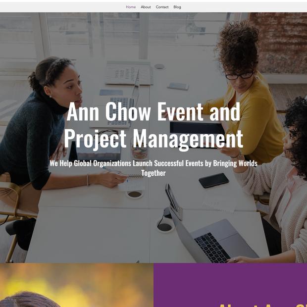 Ann Chow Project Management