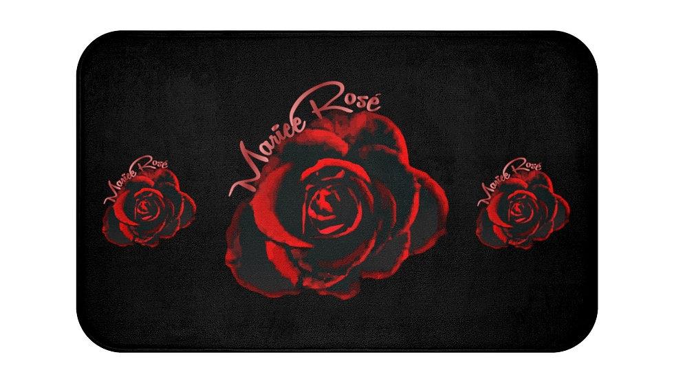 Mariee Rose' Bathworks- Bath Mat Black