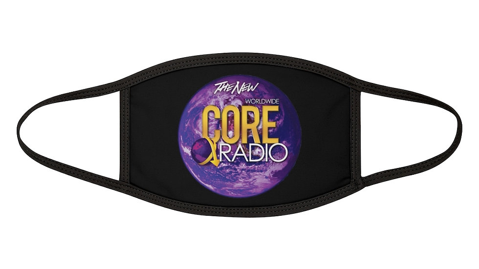 """""""Core Up!"""" Mixed-Fabric Face Mask"""