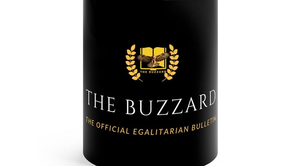 """The Buzzard"" Commemorative Black mug 11oz"