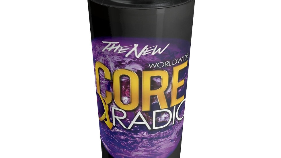 """CORE UP!"" with our Stainless Steel Travel Mug"