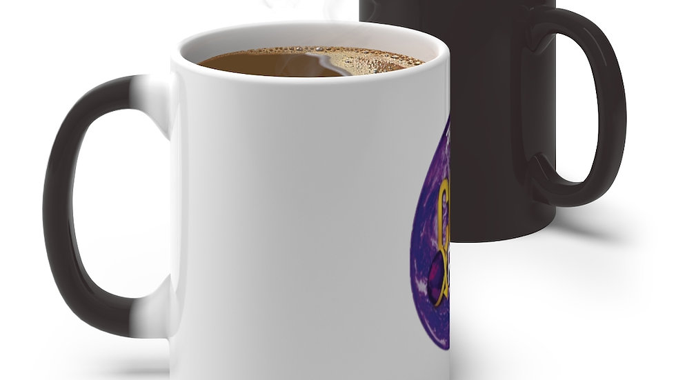 """""""Core Up!"""" with this Core TV Color Changing Mug (White to Black)"""
