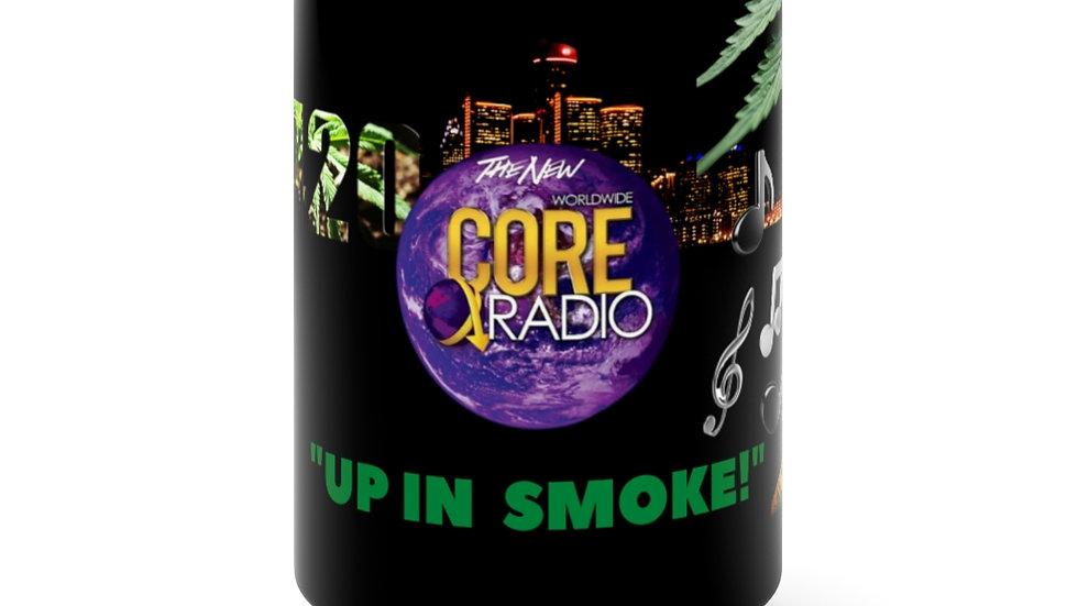 "420Detroit ""Up N Smoke"" Official Black Mug 15oz"