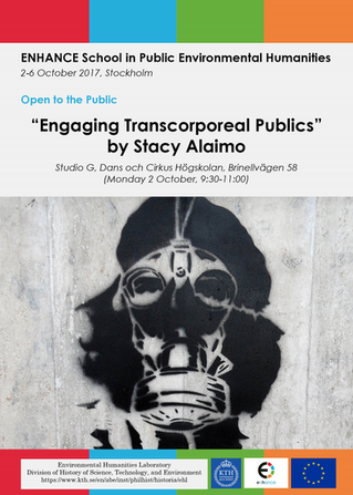 """Engaging Trans-Corporeal Publics,"" for KTH, Stockholm."