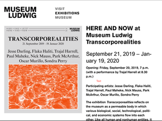 """Transcorporeality"" Exhibit at Museum Ludwig, Cologne, 9/2019-1/2020"