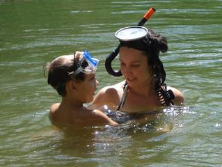 Snorkeling with Kai