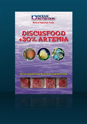 Discusfood + 30 % Artemia 100 gr