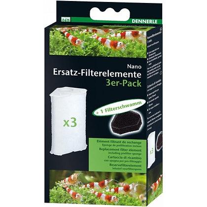 Dennerle Filterelement voor hoekfilter 3 pack